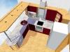 3D návrh kuchyně