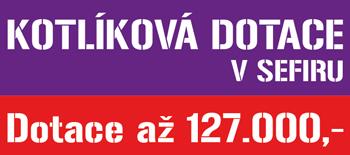 Kotlíková dotace v Sefiru 2017